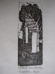Bildstock mit Baum
